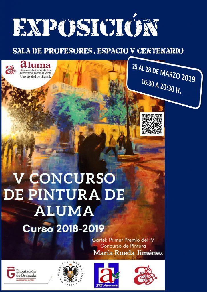 EXPOSICIÓN DEL V CONCURSO DE PINTURA ALUMA @ Espacio V Centenario, Sala de Profesores