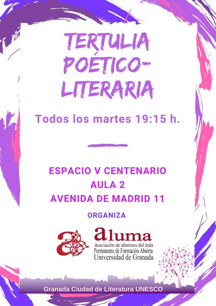 Tertulia Poético_Literaria @ Espacio V Centenario, aula 2