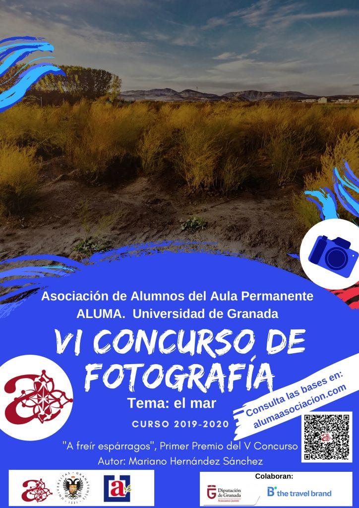 Último día para inscribirse en el VI Concurso de Fotografía de ALUMA @ Espacio V Centenario. Sede de ALUMA