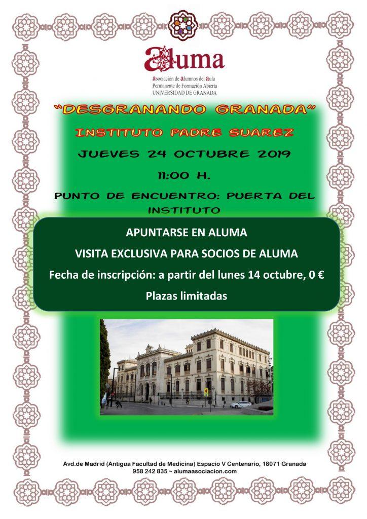 Visita Cultural al Museo del Instituto Padre Suárez