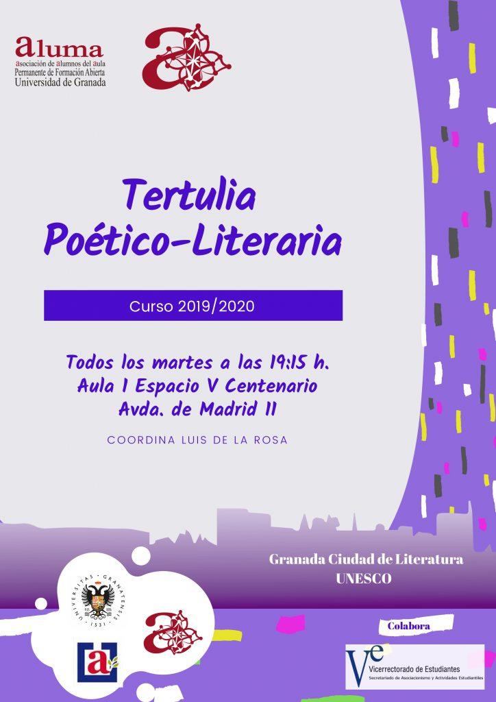 Tertulia Poético-Literaria @ Espacio V Centenario, Aula 1