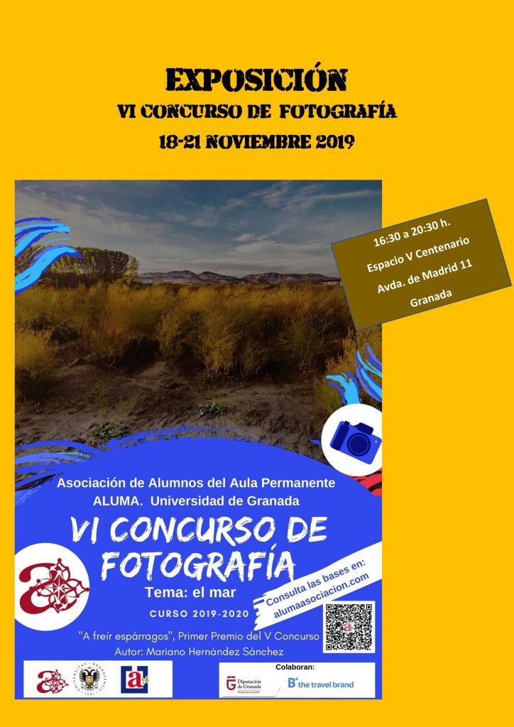 Exposición del VI Concurso de Fotografía de ALUMA @ Espacio V Centenario