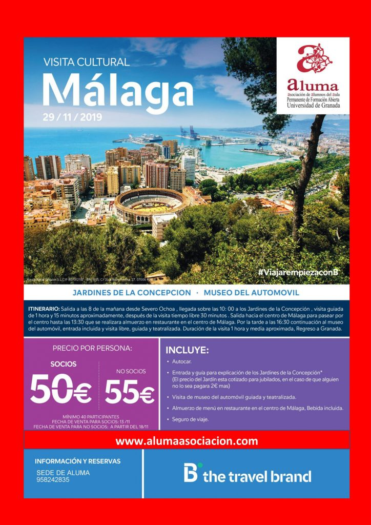Málaga, Visita Cultural