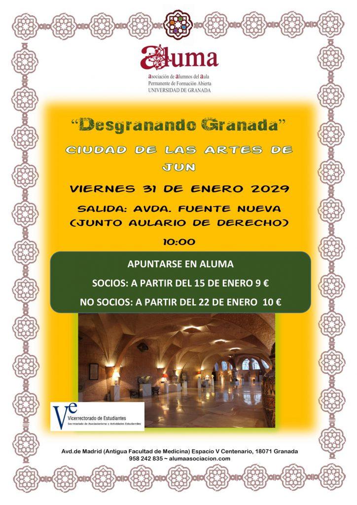 """""""Desgranando Granada"""" Ciudad de las Artes de Jun"""