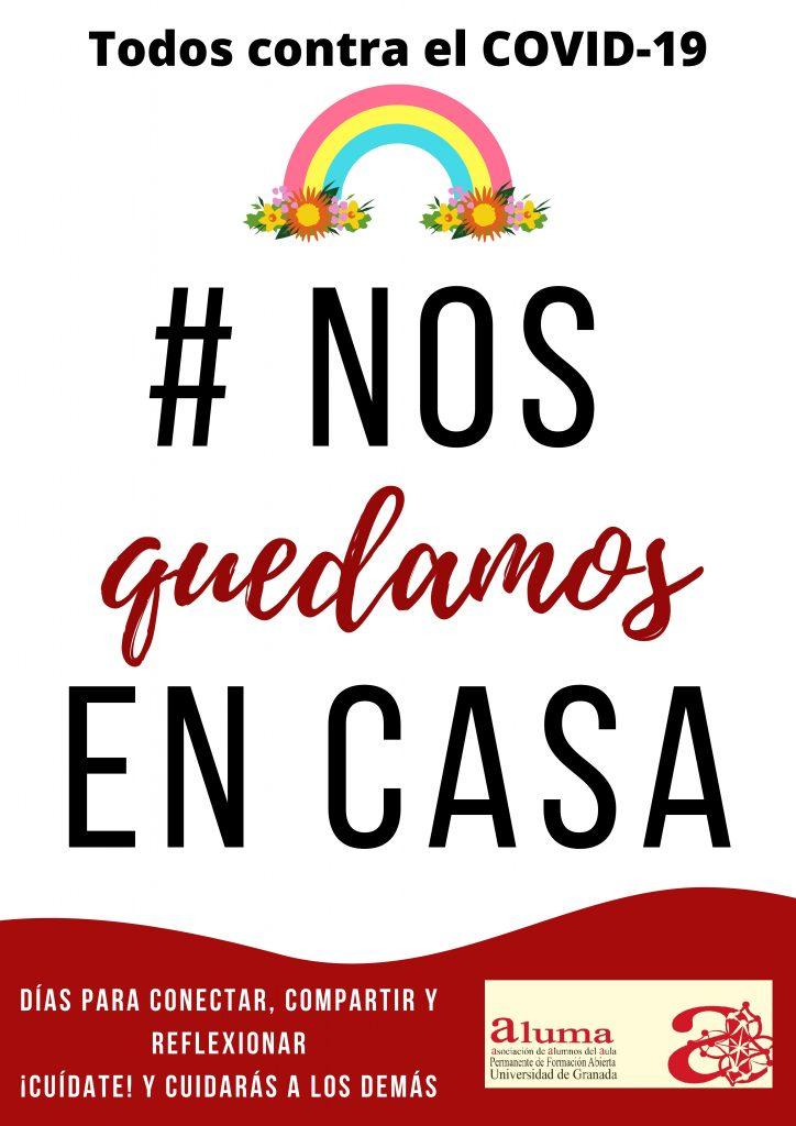 # NOS QUEDAMOS EN CASA