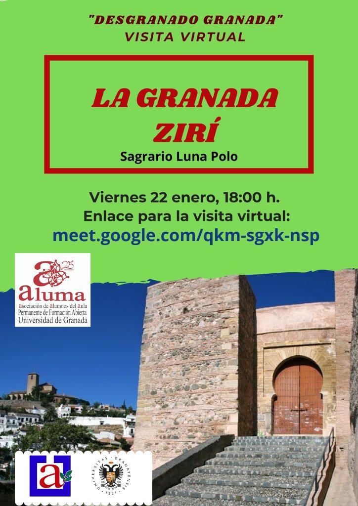 """""""Desgranando Granada"""" La Granada Zirí @ meet.google.com/qkm-sgxk-nsp"""